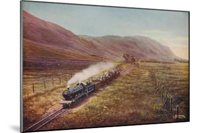 'The Smallest Passenger Railway in the World. In Eskdale, Cumberland', 1926-Unknown-Mounted Giclee Print