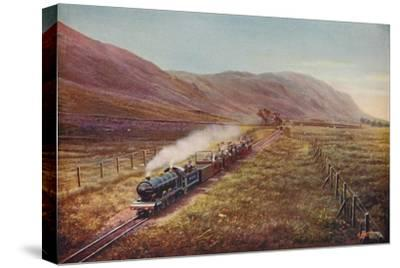 'The Smallest Passenger Railway in the World. In Eskdale, Cumberland', 1926-Unknown-Stretched Canvas Print