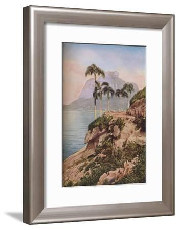 'Rio de Janeiro', c1930s-WS Barclay-Framed Giclee Print