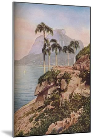 'Rio de Janeiro', c1930s-WS Barclay-Mounted Giclee Print