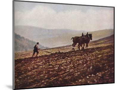 'Scotland', c1930s-Unknown-Mounted Giclee Print