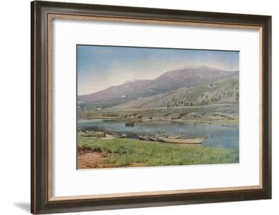 'Portugal', c1930s-EA Waymark-Framed Giclee Print