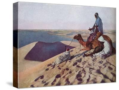 'Sahara', c1930s-Unknown-Stretched Canvas Print