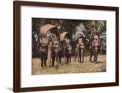 'Siam', c1930s-Ewing Galloway-Framed Premium Giclee Print