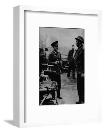 General Sir Frederick Pile, Commander-in-Chief, Anti-Aircraft Command, 1943-Unknown-Framed Photographic Print