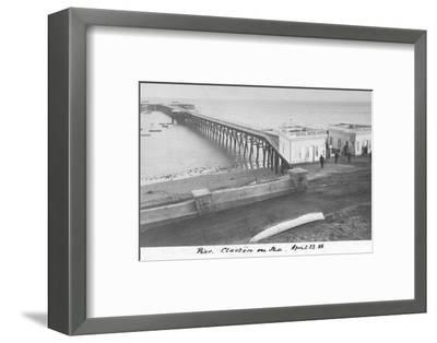 'Pier Clacton on Sea, April 23 1886'-Unknown-Framed Photographic Print