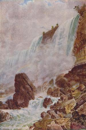 'Niagara Falls', 1924-Unknown-Stretched Canvas Print