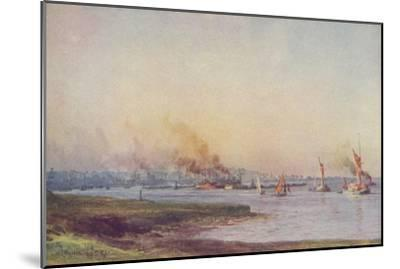 'An Estuary', 1910-WL Wythe-Mounted Giclee Print