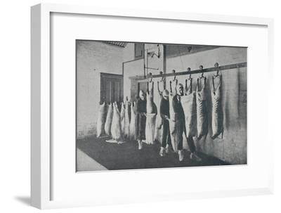 'Frozen Meat', 1910-Unknown-Framed Giclee Print