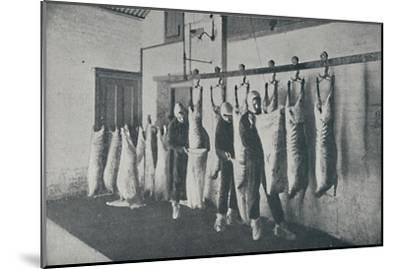 'Frozen Meat', 1910-Unknown-Mounted Giclee Print