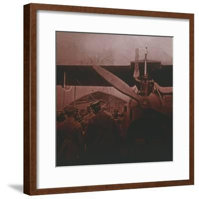Front view of Gotha, c1914-c1918-Unknown-Framed Photographic Print