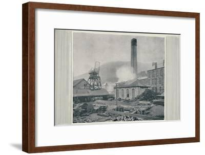 'Top of a Coal Mine', 1910-Unknown-Framed Giclee Print