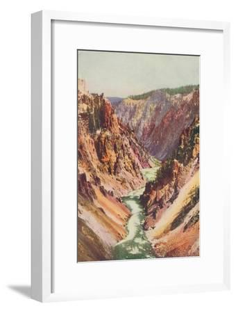 'The Yellowstone River', 1916-Unknown-Framed Giclee Print