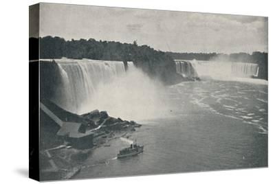 'Niagara Falls', 1916-Unknown-Stretched Canvas Print