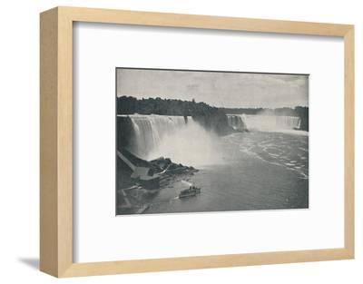 'Niagara Falls', 1916-Unknown-Framed Photographic Print