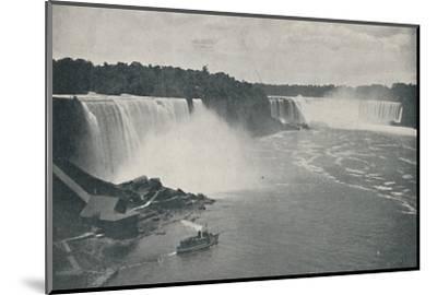 'Niagara Falls', 1916-Unknown-Mounted Photographic Print