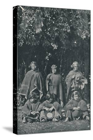'Indians from the Island of Chiloe', 1916-Unknown-Stretched Canvas Print
