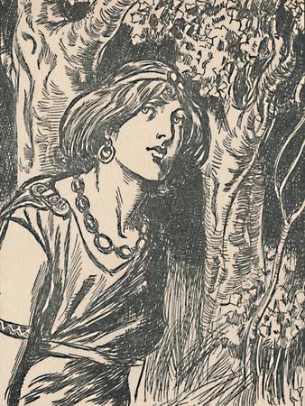 'Queen Boadicea', c1907-Unknown-Framed Giclee Print