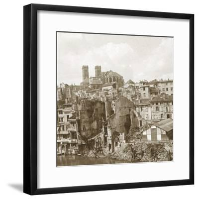 Verdun, northern France, c1916-c1918-Unknown-Framed Photographic Print