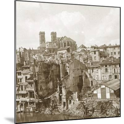 Verdun, northern France, c1916-c1918-Unknown-Mounted Photographic Print