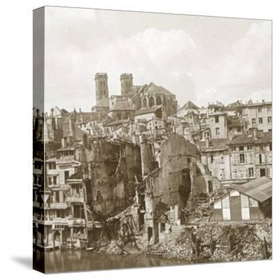 Verdun, northern France, c1916-c1918-Unknown-Stretched Canvas Print