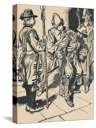 'The Arrest of Guy Fawkes', c1907-Unknown-Stretched Canvas Print