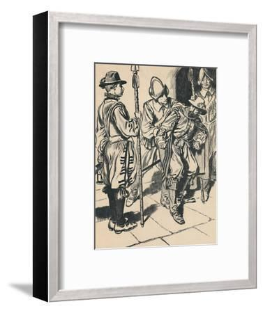 'The Arrest of Guy Fawkes', c1907-Unknown-Framed Giclee Print