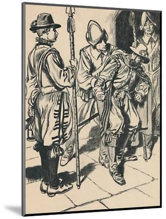 'The Arrest of Guy Fawkes', c1907-Unknown-Mounted Giclee Print