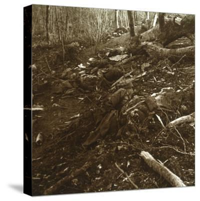 Bodies, Les Éparges, northern France, 1915-Unknown-Stretched Canvas Print