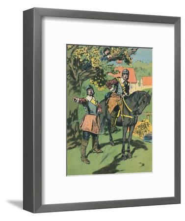 'King Charles in the Oak', c1907-Unknown-Framed Giclee Print