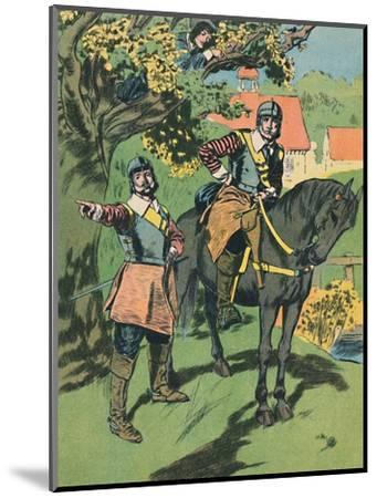 'King Charles in the Oak', c1907-Unknown-Mounted Giclee Print