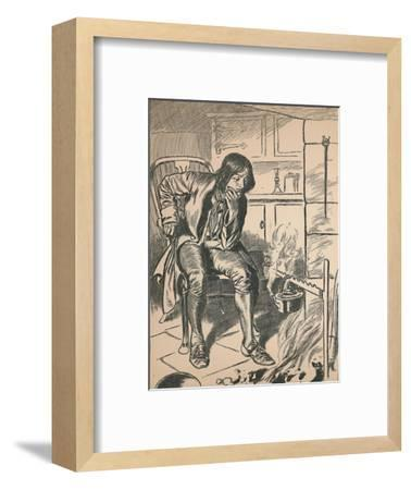 'Watching the Boiling Kettle', c1907-Unknown-Framed Giclee Print