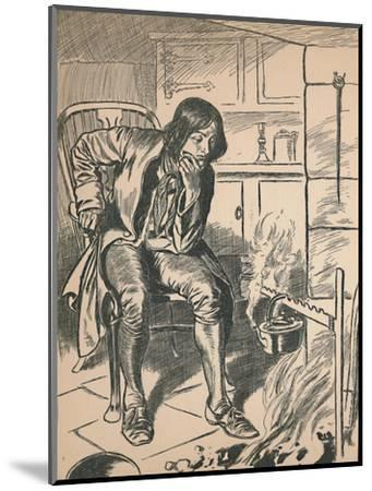 'Watching the Boiling Kettle', c1907-Unknown-Mounted Giclee Print
