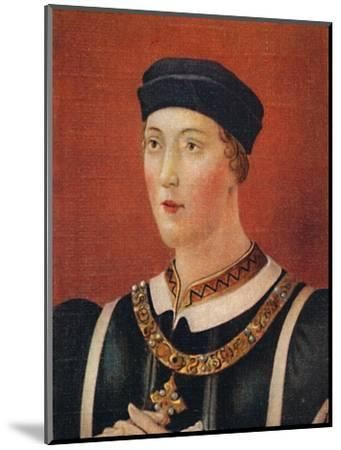 'Henry VI', 1935-Unknown-Mounted Giclee Print