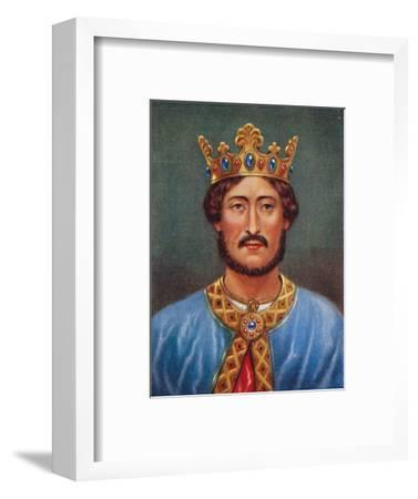 'Richard I', 1935-Unknown-Framed Giclee Print