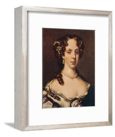 'Catherine of Braganza', 1935-Unknown-Framed Giclee Print
