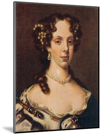 'Catherine of Braganza', 1935-Unknown-Mounted Giclee Print