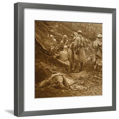 Les Éparges, northern France, 1915-Unknown-Framed Photographic Print