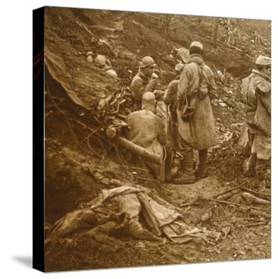 Les Éparges, northern France, 1915-Unknown-Stretched Canvas Print