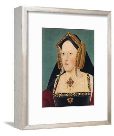 'Catherine of Aragon', 1935-Unknown-Framed Giclee Print