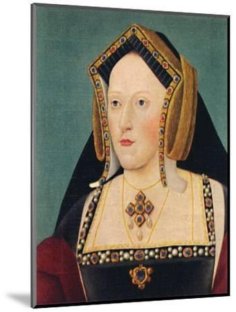 'Catherine of Aragon', 1935-Unknown-Mounted Giclee Print