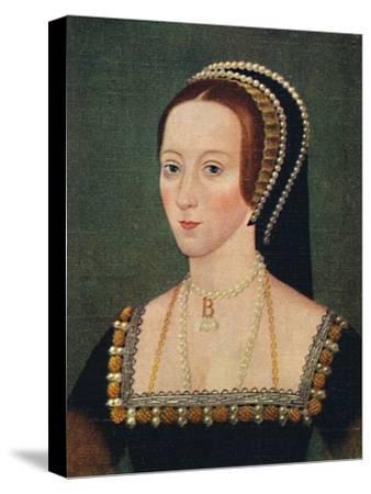 'Anne Boleyn', 1935-Unknown-Stretched Canvas Print