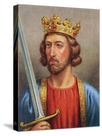 'Edward I', 1935-Unknown-Stretched Canvas Print