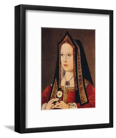 'Elizabeth of York', 1935-Unknown-Framed Giclee Print