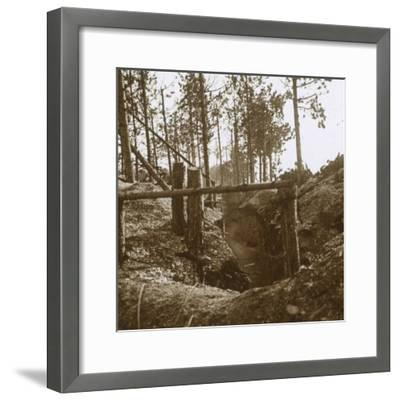 Bois-le-Prêtre, northern France, c1914-c1915-Unknown-Framed Photographic Print