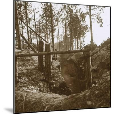 Bois-le-Prêtre, northern France, c1914-c1915-Unknown-Mounted Photographic Print