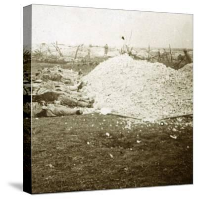 Dead bodies, Souain, northern France, September 1915-Unknown-Stretched Canvas Print