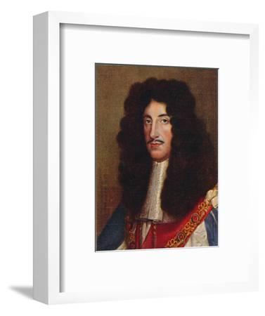 'Charles II', 1935-Unknown-Framed Giclee Print