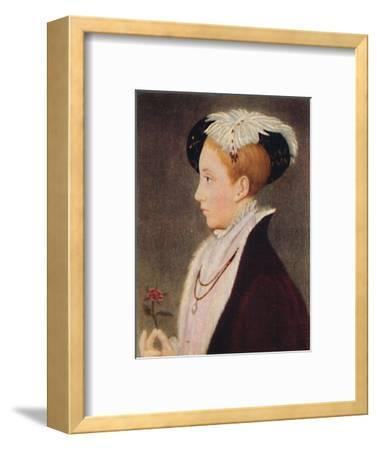 'Edward VI', 1935-Unknown-Framed Giclee Print