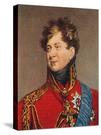 'George IV', 1935-Unknown-Stretched Canvas Print